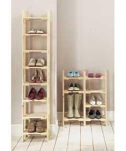 Marcelina vestidores for Mueble para guardar zapatos madera