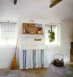 Cortinas bajo mesada marcelina for Bajo mesada lavadero