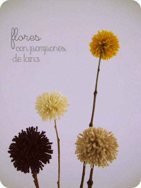 Flores De Lana Marcelina - Como-hacer-una-flor-de-lana
