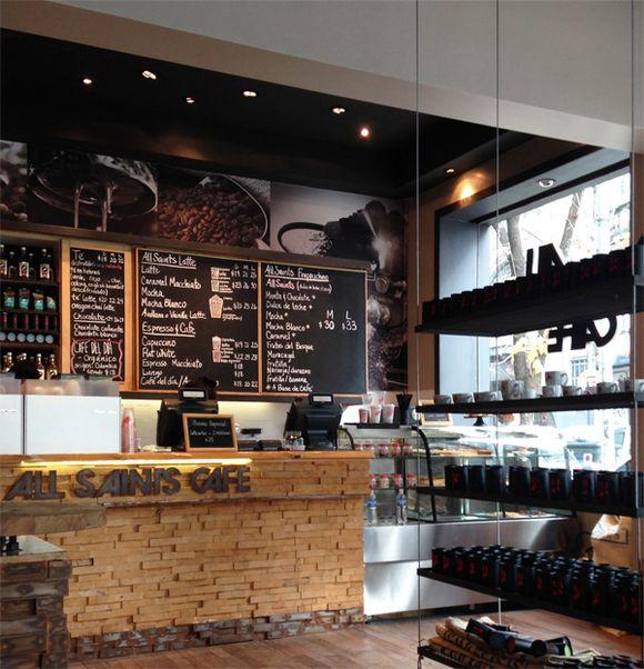 Marcelina restaurantes cafeterias etc - Decoracion de cafeterias pequenas ...