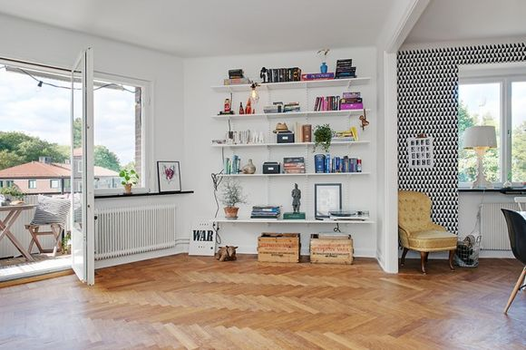 Awesome-Project-Swedish-Crib-Living-Room-Details-with-White-Shelves-728x485