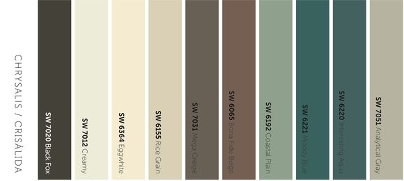 Tendencias sherwin williams 2015 marcelina for Paleta de colores grises